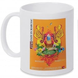 Mug Jazz In Marciac affiche 2007 Personnalisé