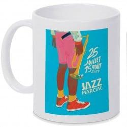 Mug Jazz In Marciac affiche 2019 Personnalisé