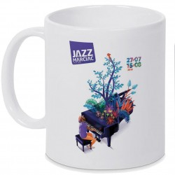 Mug Jazz In Marciac affiche 2018 Personnalisé