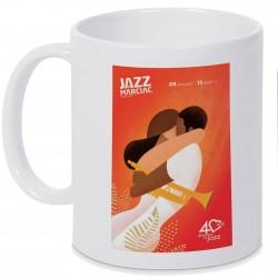 Mug Jazz In Marciac affiche 2017 Personnalisé