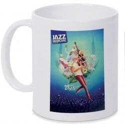 Mug Jazz In Marciac affiche 2016 Personnalisé