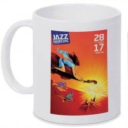 Mug Jazz In Marciac affiche 2014 Personnalisé