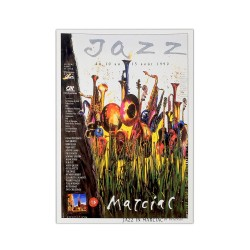 Carte postale Affiche Jazz in Marciac 1990