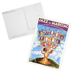 Carte postale Affiche Jazz in Marciac 1995