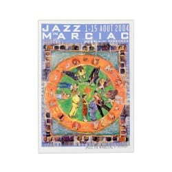 Carte postale Affiche Jazz in Marciac 2004
