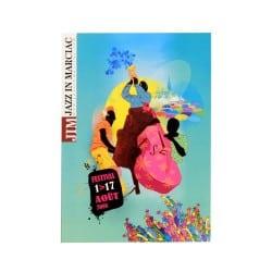 Carte postale Affiche Jazz in Marciac 2008