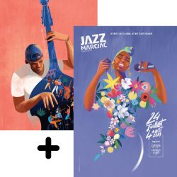 Affiche Collector Jazz In Marciac 2020 + 2021