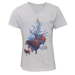T-shirt affiche couleur Jazz in Marciac