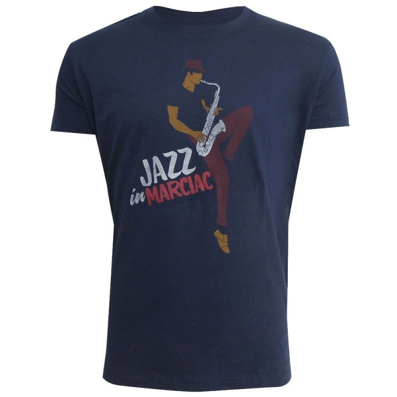 t-shirt saxo Jazz in Marciac