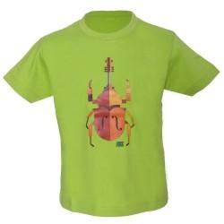T-shirt enfant scarabée Jazz in Marciac
