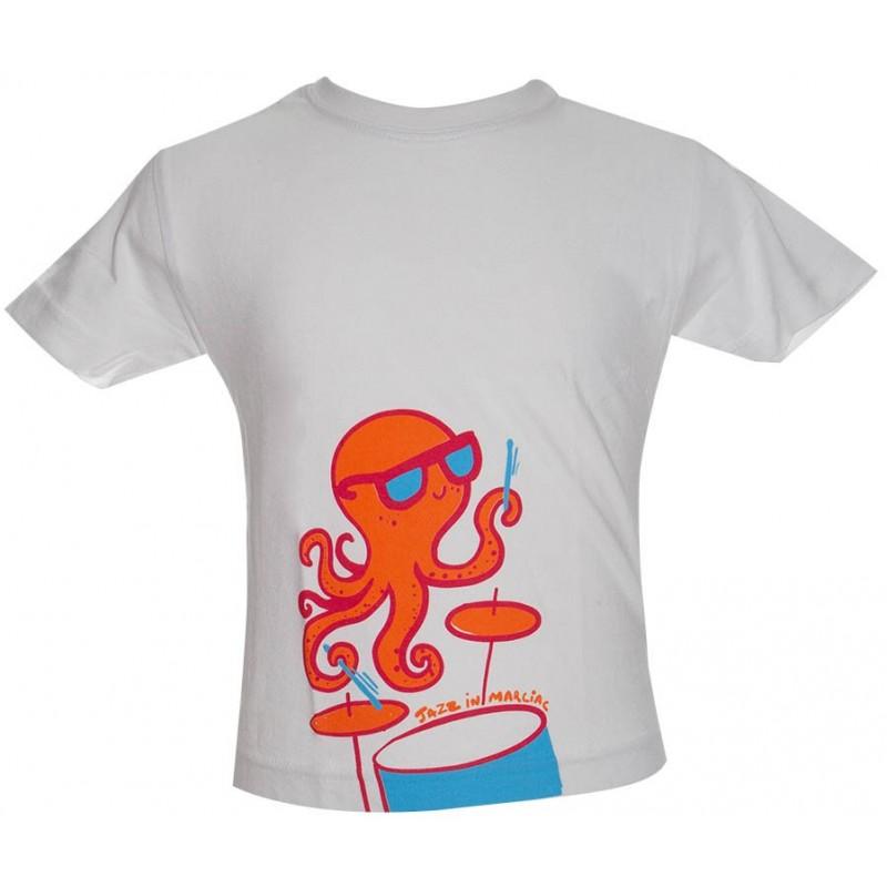 T-shirt Enfant Poulpe rose - Jazz In Marciac