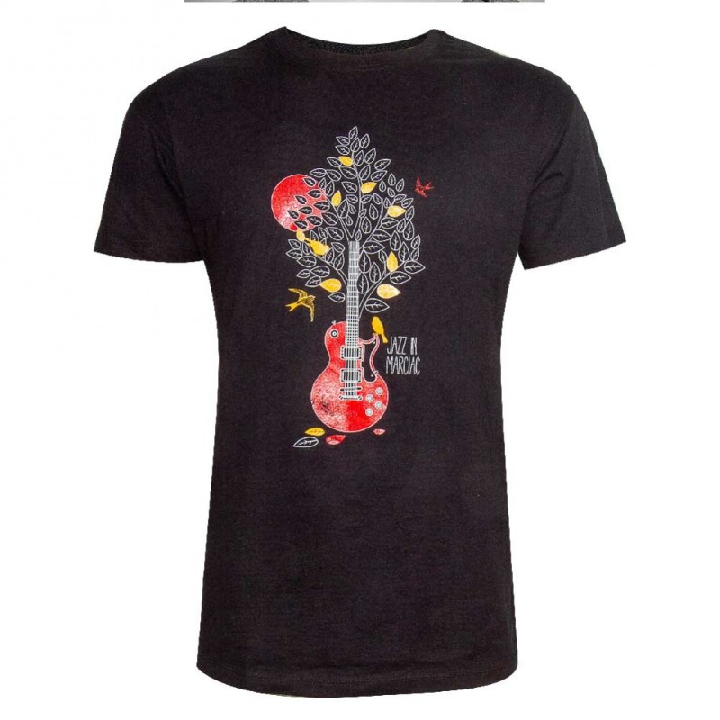 T-shirt Arbre Guitare