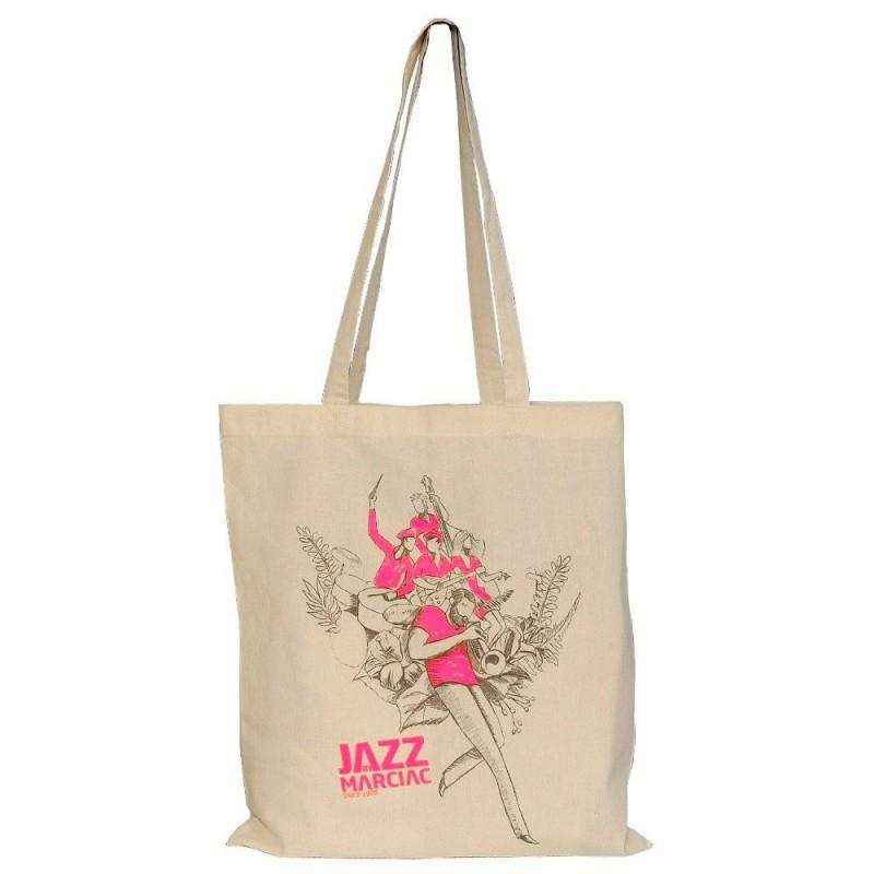 Sac shopping rose Jazz in Marciac