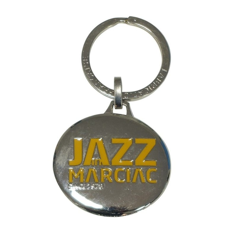 Porte-clés métal Jazz in Marciac