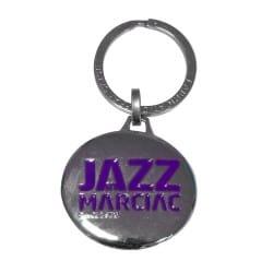 Porte-clés métal violet Jazz in Marciac