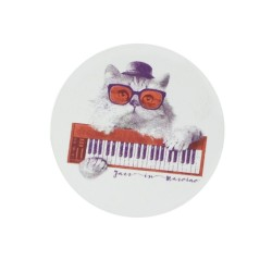 Magnet chat synthétiseur Jazz in Marciac