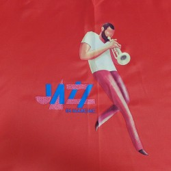 Parapluie rouge Jazz in Marciac