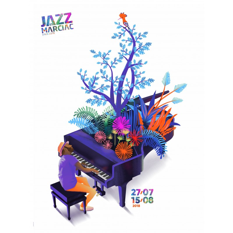 Affiche Collectors Jazz in Marciac 2018