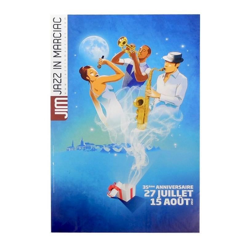 Affiche Jazz in Marciac 2012