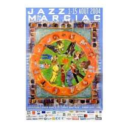 Affiche Jazz in Marciac 2004