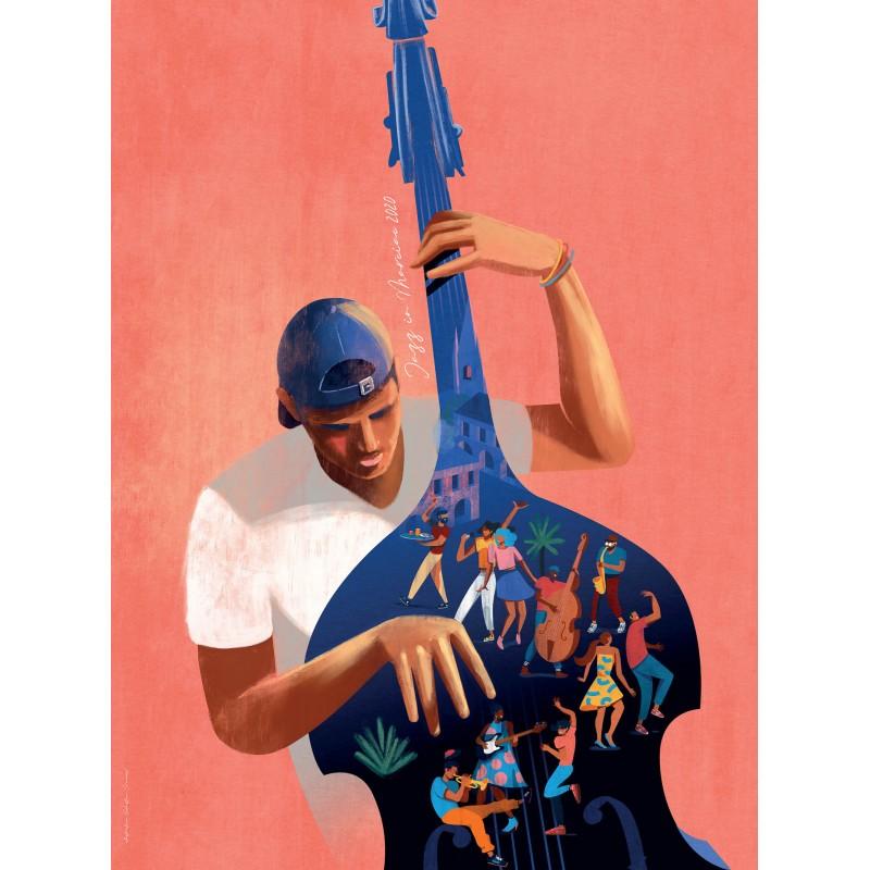 Affiche Collector Jazz In Marciac 2020